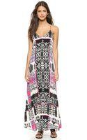 Felicite Tribal Print Maxi Dress - Pink - Lyst