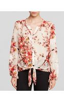 Kut From The Kloth Floral Print Blouse - Lyst