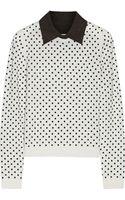 Alice + Olivia Javi Wool Sweater - Lyst