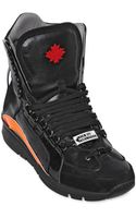 DSquared2 551 Nubuck Leather High Top Sneakers - Lyst
