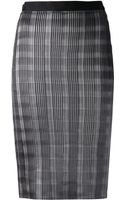 Alexander Wang Pleated Skirt - Lyst