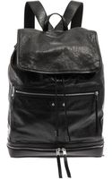 Balenciaga Traveller Leather Backpack - Lyst