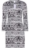 Diane Von Furstenberg New Reina Two Printed Silkjersey Dress - Lyst