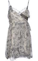 Dior Short Dress - Lyst