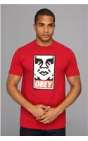 Obey Icon Face Basic Tee - Lyst