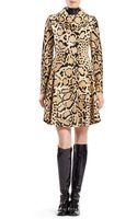 Gucci Leopard Print Calf Hair Coat - Lyst