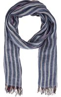 Colombo Striped Scarf - Lyst
