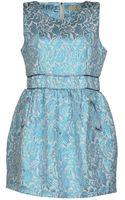 Eyedoll Short Dress - Lyst