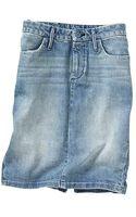 Gap Denim Pencil Skirt - Lyst