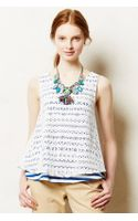 Anthropologie Laceview Tank - Lyst