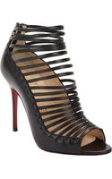 Christian Louboutin Gortika Strappy Ankle Booties - Lyst