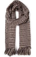 Missoni Striped-knit Wrap Scarf - Lyst