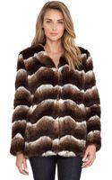 Heartloom Tess Faux Fur Jacket - Lyst