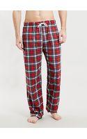 Topman Rednavy Mcgregor Flannel Pyjama Bottoms - Lyst