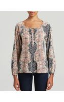Sanctuary Mosaic Gypsy Woven Blouse - Lyst