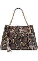Gucci Soho Python Chainstrap Bag - Lyst