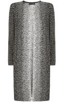 St. John Ombre Eyelash Knit Topper Coat - Lyst