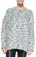 Helmut Lang Source Chunky Knit Wool Sweater - Lyst