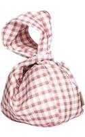 Carven Small Bundle Vichy Bag - Lyst