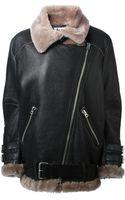 Acne Studios Velocite Oversized Aviator Jacket - Lyst