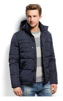 Tommy Hilfiger Caleb Hooded Bomber Jacket - Euro - Lyst