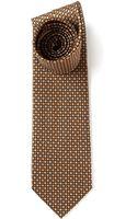 Ferragamo Ladybrid Print Tie - Lyst