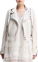 Chloé Lightweight Lambskin Leather Jacket - Lyst