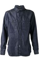 Engineered Garments Denim Shirt - Lyst