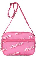 Moschino Small Logo Printed Shoulder Bag - Lyst