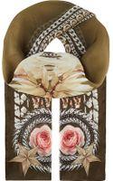 Givenchy Paradise Floral Scarf Khaki Multi - Lyst