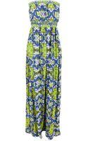 Ax Paris Strapless Maxi Dress - Lyst