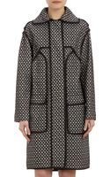 Derek Lam Lace Overlay Trench Coat - Lyst