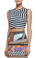 Clover Canyon Lautner Land Printed Crop Top - Lyst