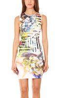 Clover Canyon Floral Maze Dress - Lyst