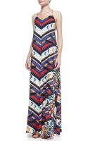 Mara Hoffman Jersey V-neck Camisole Gown - Lyst