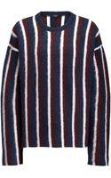 Joseph Brush Mohair Stripe Sweater - Lyst
