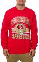 Mitchell & Ness The San Francisco 49ers Helmet Sweatshirt - Lyst