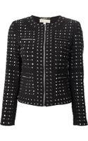 Michael by Michael Kors Studded Jacket - Lyst
