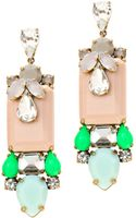 J.Crew Polynesian Stone Earrings - Lyst