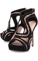 Carvela Kurt Geiger Great Studded Sandals - Lyst