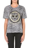 Juicy Couture Leopard Frame T-Shirt  - Lyst