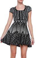 Torn By Ronny Kobo Vivienne Dress - Lyst