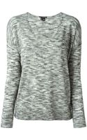 Theory V-neck Sweater - Lyst