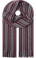 Hugo Boss Stripe Scarf - Lyst
