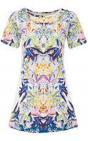 Atterley Road Digital Print Tunic Dress - Lyst