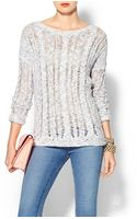 Vince Cable Lace Sweater - Lyst
