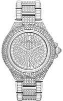 Michael Kors Ladies Camille Midsize Chronograph Glitz Watch - Lyst