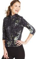 Calvin Klein Performance Threequartersleeve Printed Jacket - Lyst