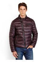 Kenneth Cole Asymmetrical Down Puffer Jacket - Lyst