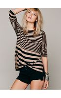 Free People We The Free Tight Wire Tee - Lyst